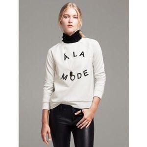 Banana Republic A La Mode Sweatshirt